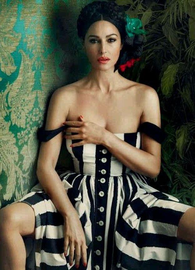 Style Inspiration : Monica Bellucci for Harper's Bazaar Ukraine March Issue 2013
