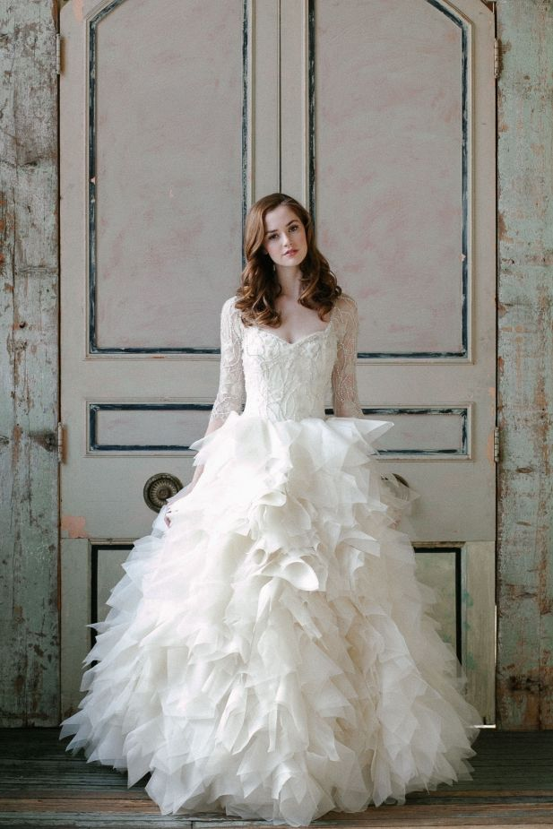 Swept Away with Gorgeousness! See More: http://thebridaldetective.com/well-dressed-sareh-nouri-ss-2015/