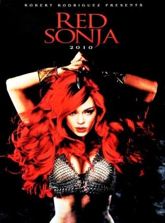 Red Sonja. Promotional art for the Robert Rodriguez movie originally intended for 2009