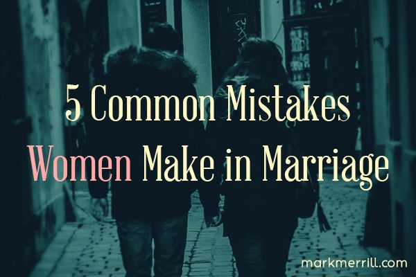 5 Common Mistakes WOMEN Make in Marriage #marriage #marriageadvice #commonmistakes