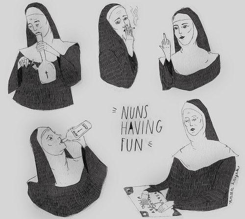 ✖✖✖ Nuns Having Fun byByNada Hayek ✖✖✖