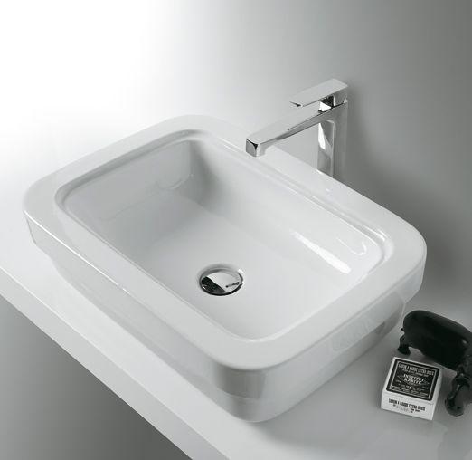 EVO10 | Evolution Ceramica Simas Counter top washbasin 58