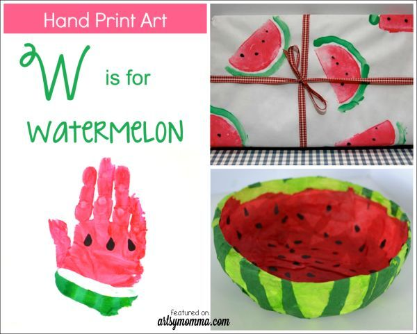Are you getting excited for Summer? Here are 10 watermelon crafts for kids to keep them busy while schools out! My fave is the handprint!