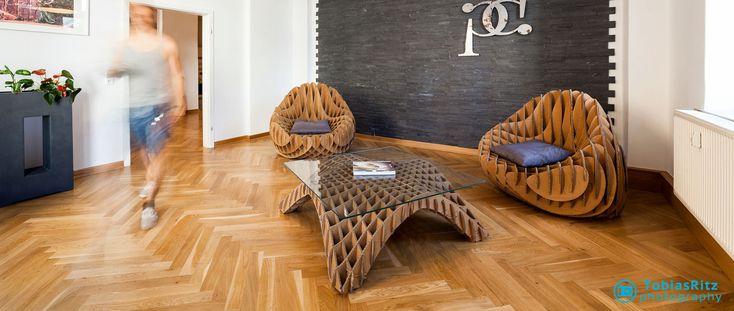 Cardboard Furniture, Möbel aus Pappe, Wellpappe, Ecodesign, Ökomöbel, Möbel, Nordwerk Design Maximilian Hansen, Sessel 07