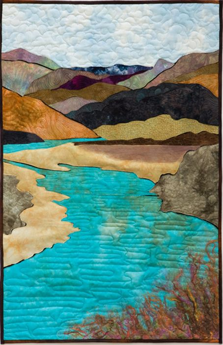 "John Day River, OR (24""x30"") by Marjorie Post 