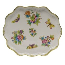 Herend Queen Victoria Scallop Tray
