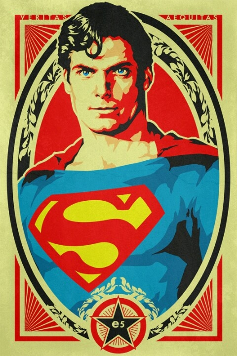 Christopher Reeves' SUPERMAN tribute by •Epyon5
