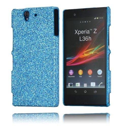 Glitter (Blå) Sony Xperia Z Case