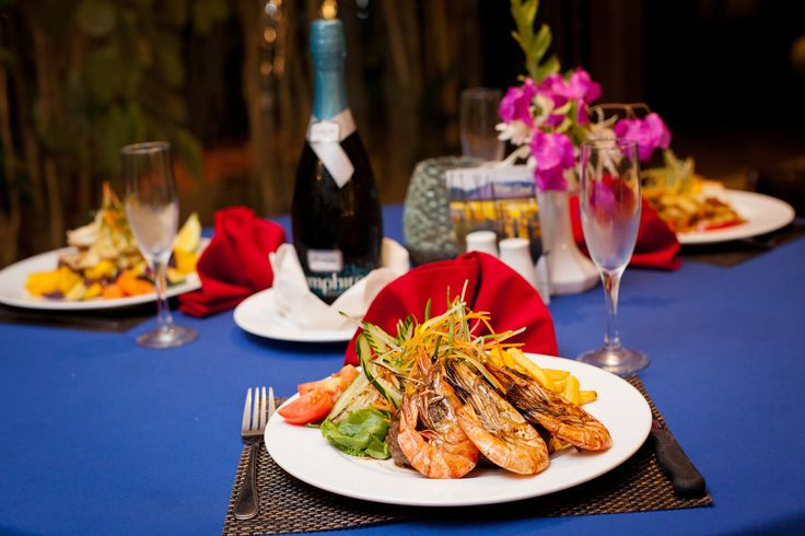 Great selections on our restaurant menu at Gecko's Resort Fiji