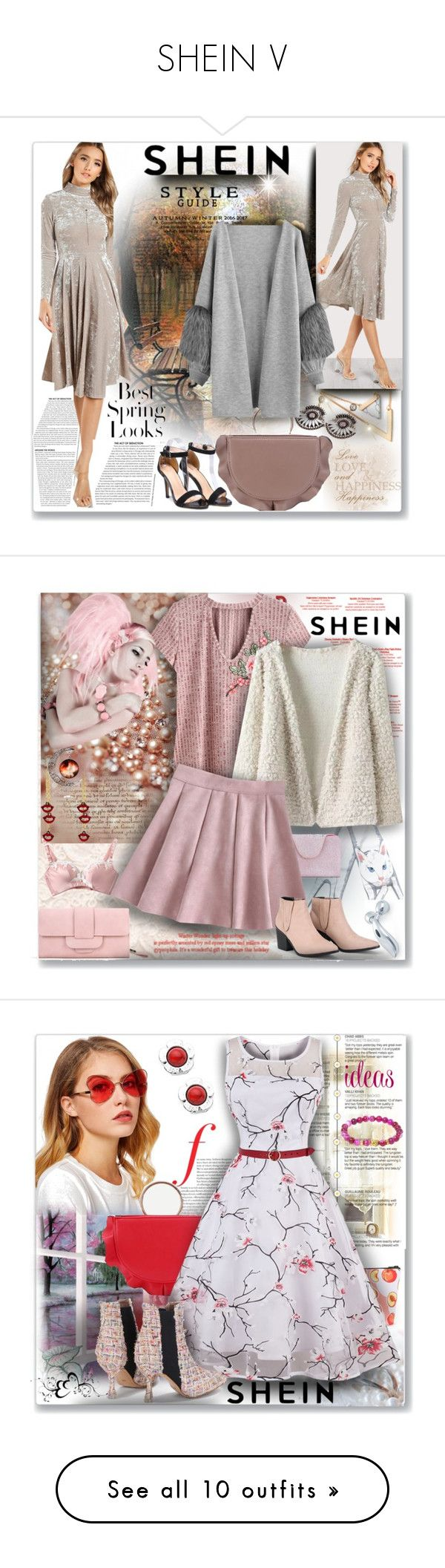 """SHEIN V"" by ane-twist ❤ liked on Polyvore featuring shein, H&M, Elie Saab, Pierre Hardy, Mor, Under Armour and canvas"