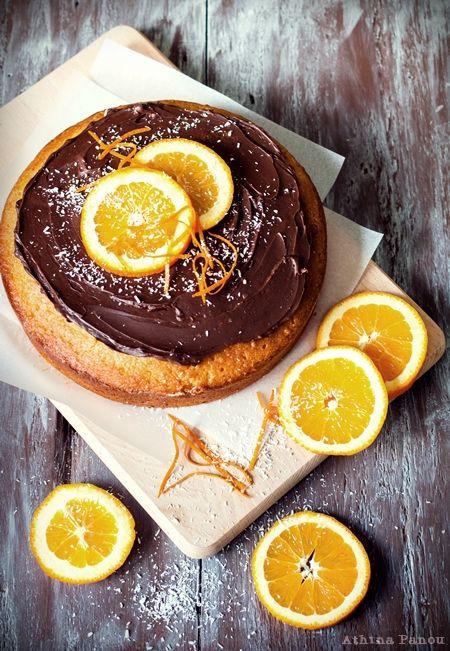 Φτιάχνουμε κέικ πορτοκάλι με σοκολάτα και ινδοκάρυδο!