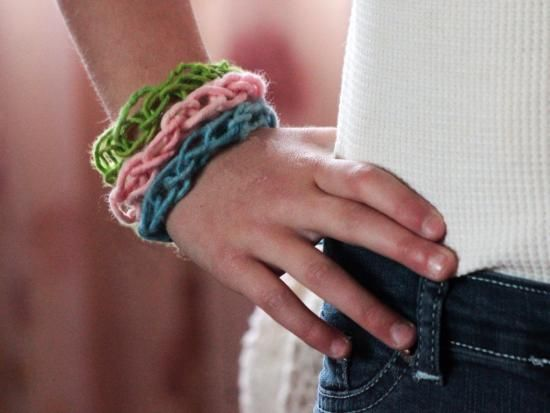Finger Knitting May Seem Complicated At First But After