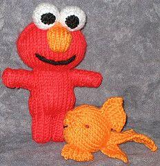 Elmo Doll Knitting Pattern : Patterns, Yarns and Knit patterns on Pinterest