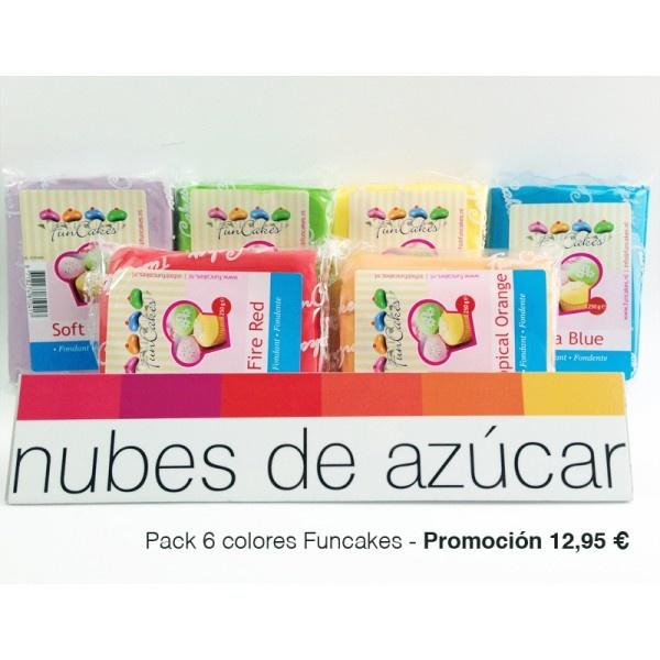 pack #promocion #fondant #funcakes para la #decoración de #tartas #galletas y #cupcakes