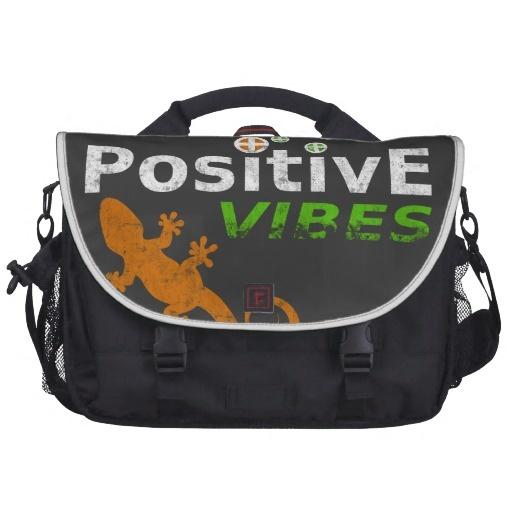 Positive Vibes Laptop Computer Bag