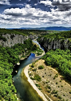 Gorges du Chassezac - Ardèche in France