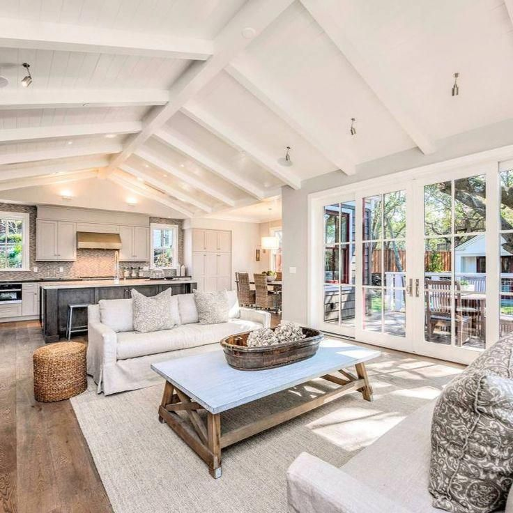 51 Modern Farmhouse Living Room Ideas Bright Modern Farmhouse Neutral Living Room Livingroomdecorneutral
