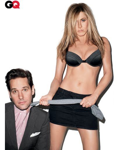 Photos: Jennifer Aniston and Paul Rudd in GQ March 2012