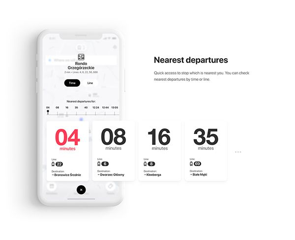Jakdojade - Pubic & Intercity Transport app on Behance