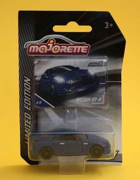 Cool Awesome Majorette Nissan GT-R Series 1 Limited Edition 2018