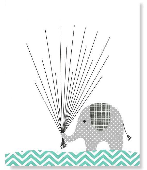 fingerprint baby shower alternative guest by. Black Bedroom Furniture Sets. Home Design Ideas