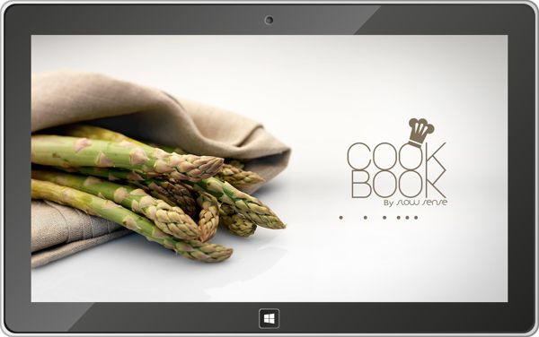 Cookbook by Slow Sense Windows 8 Application by Axel NEMETH, via Behance