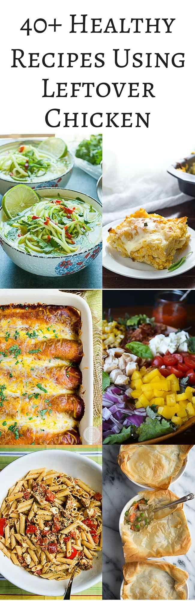 Healthy recipes with leftover chicken breast