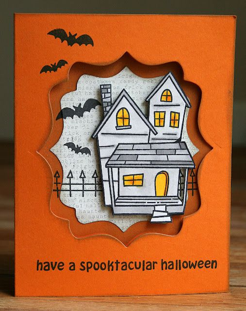 Halloween Card Making Ideas Part - 47: Two Peas In A Bucket. Find This Pin And More On Halloween Cards ...