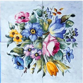 hand painted italian tiles. for order e.mail me: erreci1958@yahoo.it