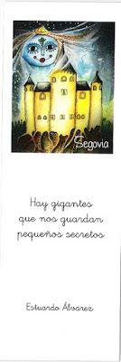 Marcapáginas con el Alcazar de Segovia
