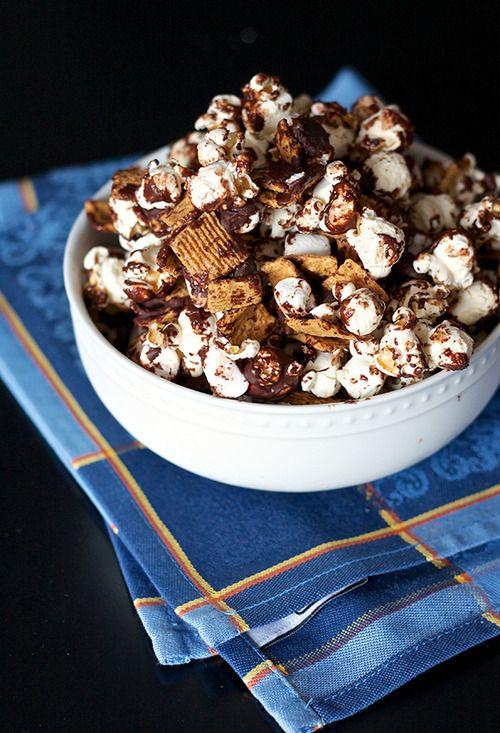 s'mores popcorn.