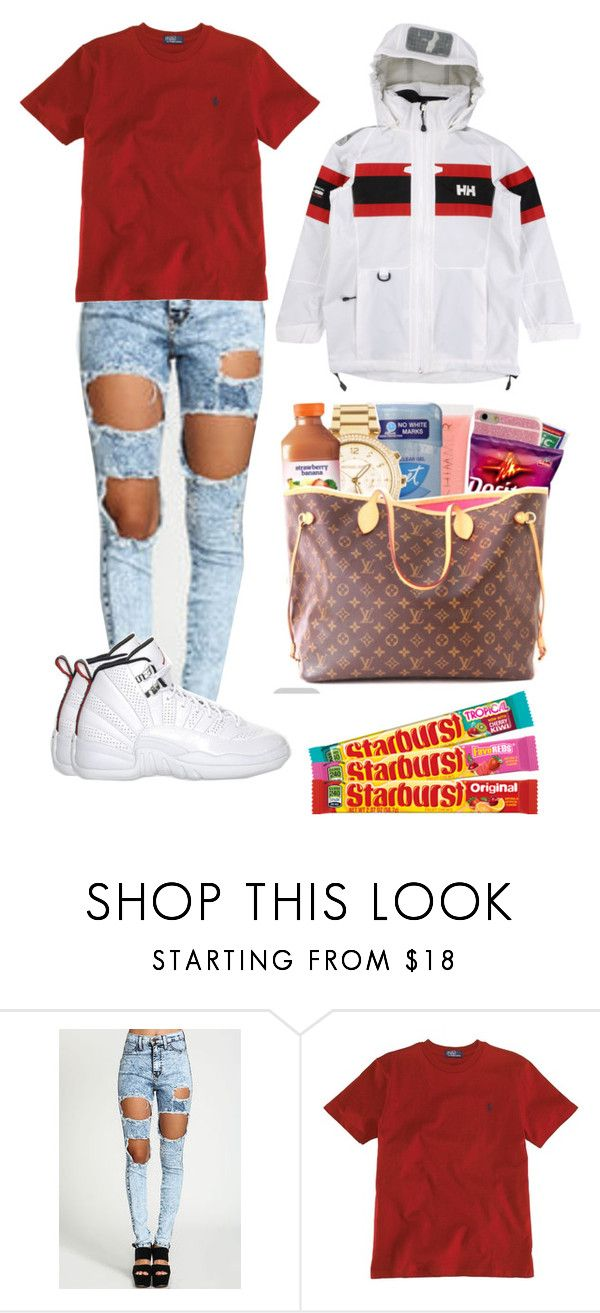 """The mall"" by kala-bhaybee ❤ liked on Polyvore featuring Ralph Lauren, Retrò and Helly Hansen"