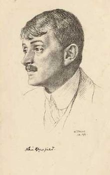 """John Edward Masefield, OM (/ˈmeɪsˌfiːld, ˈmeɪz-/; 1 June 1878 – 12 May 1967) English poet and writer, was Poet Laureate of the United Kingdom from 1930. Among his best known works are the children's novels The Midnight Folk and The Box of Delights, and the poems """"The Everlasting Mercy"""" and """"Sea-Fever""""."""