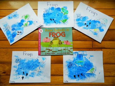 Like Mama ~ Like Daughter: From Tadpole to Frog and lots of frog lifecycle activities.