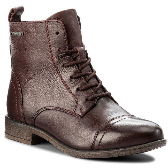 Botki Lasocki Wi16 Enna 01 Bordowy Combat Boots Boots Shoes