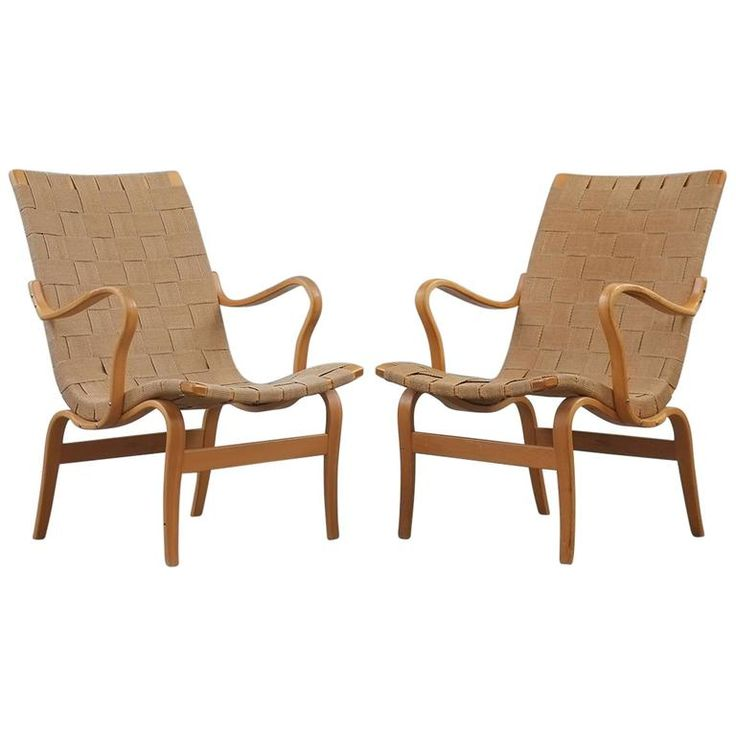 Bruno Mathsson Eva Chairs | 1stdibs.com