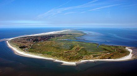Île de Spiekeroog, Frise, Basse-Saxe.