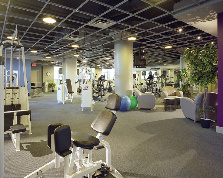 StateoftheArt Fitness Center Stunning Center City