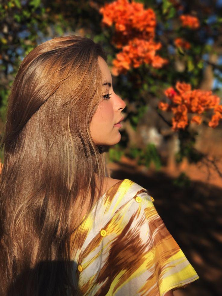 Insta: Marcella Souto #autumn #flowers #orange