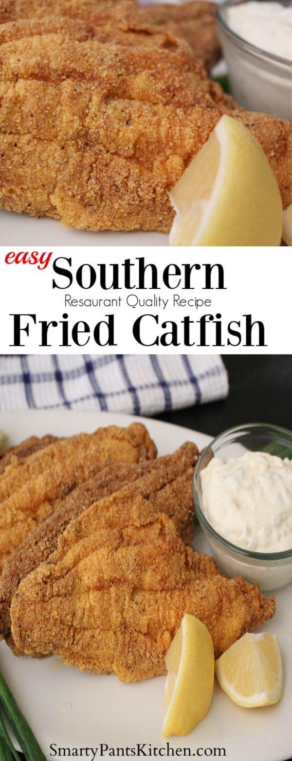 Restaurant Style Fried Catfish