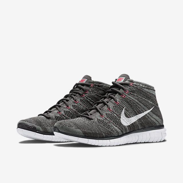 Nike Free Flyknit Chukka Men's Shoe. Nike Store