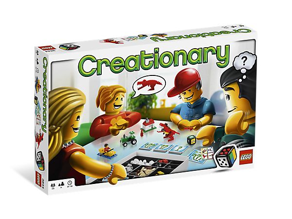 Creationary from LEGO® Games: A new way to play! This may be the coolest game ever