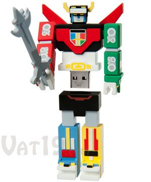 Voltron 2GB USB Flash DriveDrive 2Gb, Voltron 2Gb, Animal Freak, Usb Flash Drive, Straight Awesome, Voltron Usb, 2Gb Usb