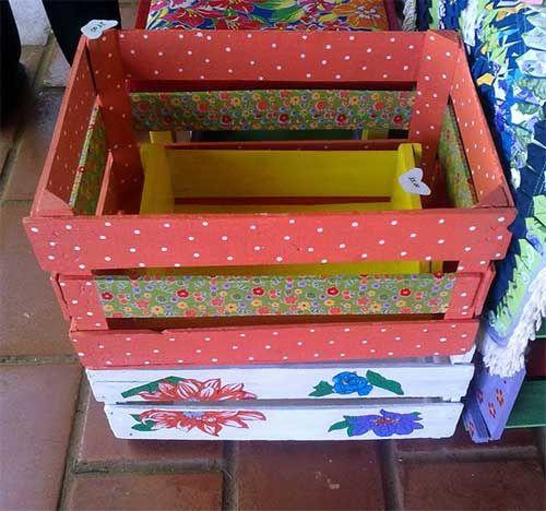 Дизайн дома при участии коробок и ящиков