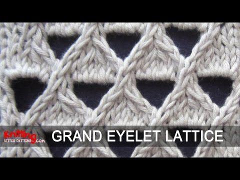 Grand Eyelet Lattice