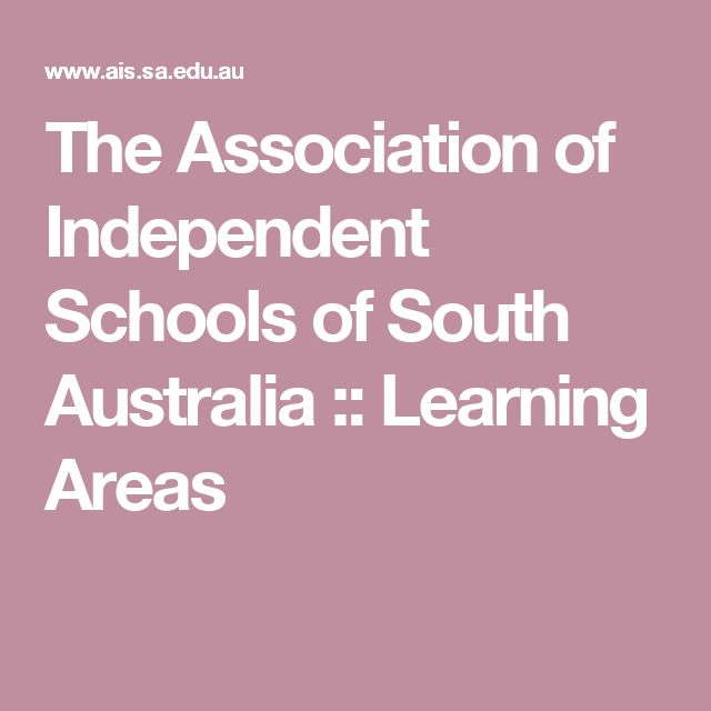The Association of Independent Schools of South Australia :: Learning Areas