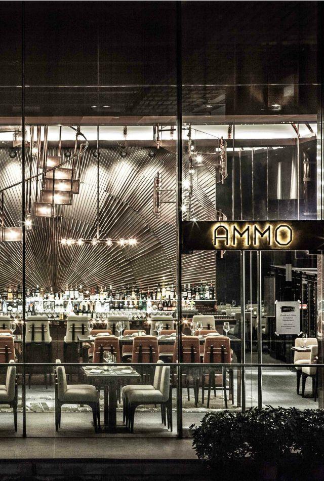 AMMO Is A Restaurant And Bar In Hong Kong China
