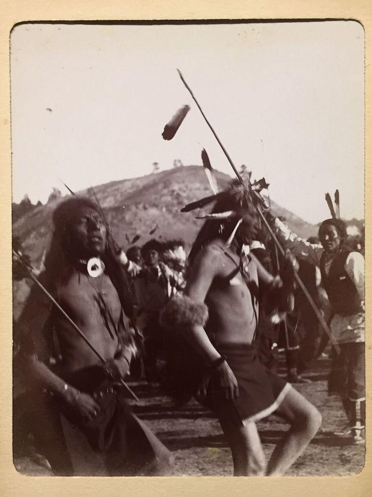 Plains Indians dancing c. 1890's- unknown photographer