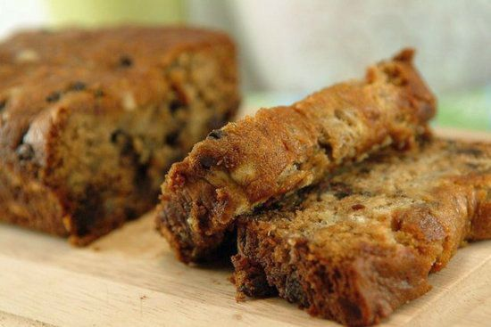 No sugar, no butter, Vegan banana Choc chip bread. Going to have to try this one!