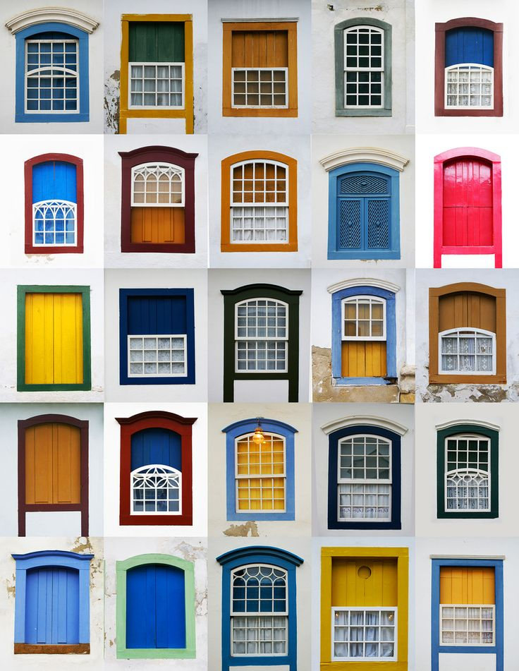 Windows of Paraty ,Brazil - Emerson Brito